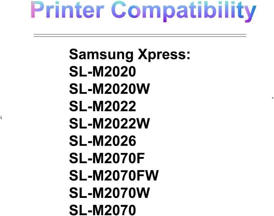 Imaging Toner Cartridge Use for Samsung Xpress SL-M2020 SL-M2020W SL-M2022 Printer Compatible High Yield D111S MLT-D111S 1-Pack Black