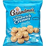 Grandma's Sandwich Cookies, Vanilla Creme Minis, 2.12 Ounce (Pack of 60)