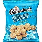 Grandma's Sandwich Cookies, Vanilla Creme Minis, 2.12 Ounce (Pack of 60)