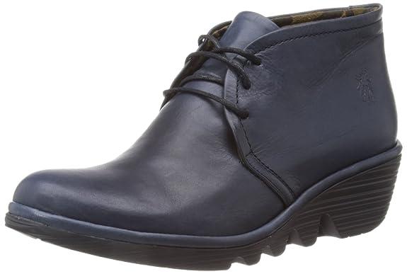 FLY London Damen Pert Desert Boots, Schwarz (Black 029), 42 EU