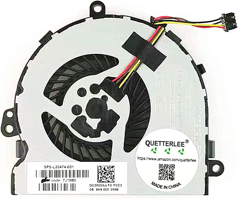 Cpu Cooler para HP 15-DA 15-DR 15-DX 15-DB 15Q-DX 15T-DS