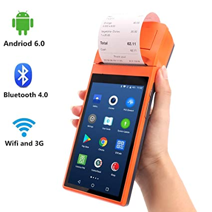 amazon com update 2 0 android 6 0 pos terminal munbyn with 3g