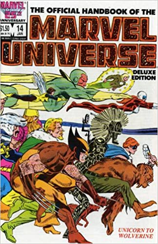 Essential Official Handbook Of The Marvel Universe Deluxe Edition Volume 3 TPB