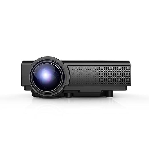 6 opinioni per Proiettore,TENKER Q5 Mini Proiettore LED LCD da 1500 Lumen,Video Proiettore Home