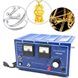 VEVOR Jewelry Plating Rectifier 30A Platinum Gold Silver Rhodium Plating Machine 110 or 220V Jewelry Plater Electroplating Rectifier with Thyristor Rectifier