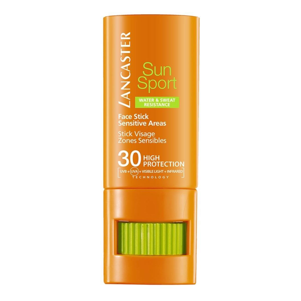 Lancaster Sun Sport Face Stick SPF30 – Penna solare, confezione da 1 (1 X 9 g) 3614220786780