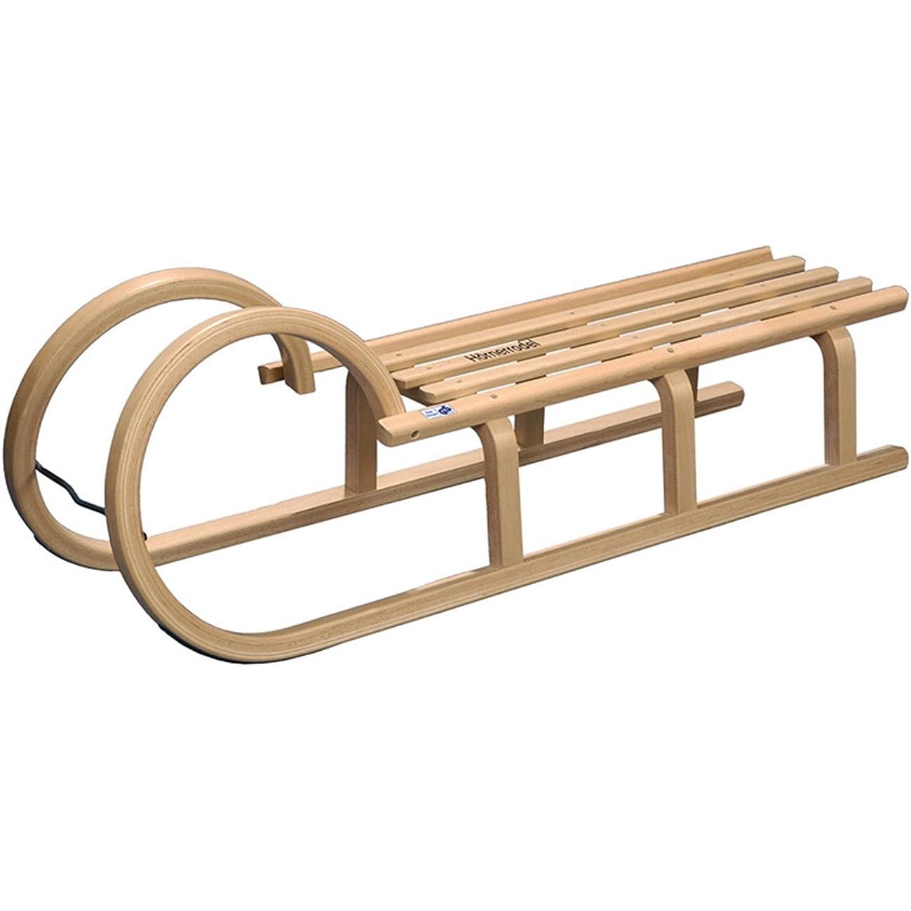 Ein klassischer Holz-Schlitten - u.a. angeboten von R.P.L. Trading.