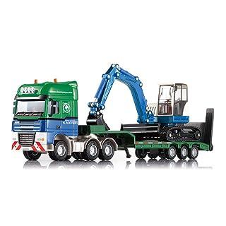 AOTE-D Auto Camion Camion Costruzione Camion Escavatori Trasportatori Modelli 1:50 Giocattoli in Lega Ragazzi Ragazze Regali