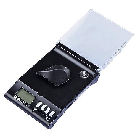 Báscula digital inteligente de bolsillo para precisión de miligramos 30g x 0,001g para la joyería