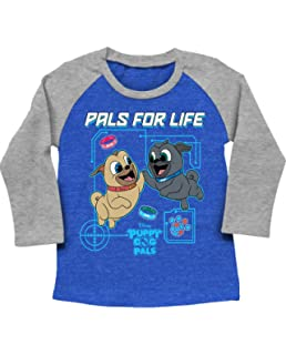 6faf77375a Amazon.com  Puppy Dog Pals Short Sleeve T-Shirt for Toddler Boys (4 ...