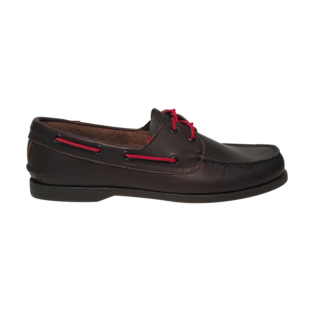 Timberland Mens Classic Two-Eye Boat Shoe (Boat Dark Brown-Red, 10.5)