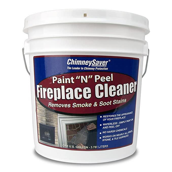 Amazon Com Chimneysaver Paint N Peel Fireplace Cleaner 1 Gallon