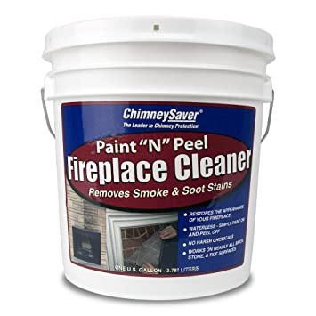 ChimneySaver Paint N Peel Fireplace Cleaner, 1 Gallon