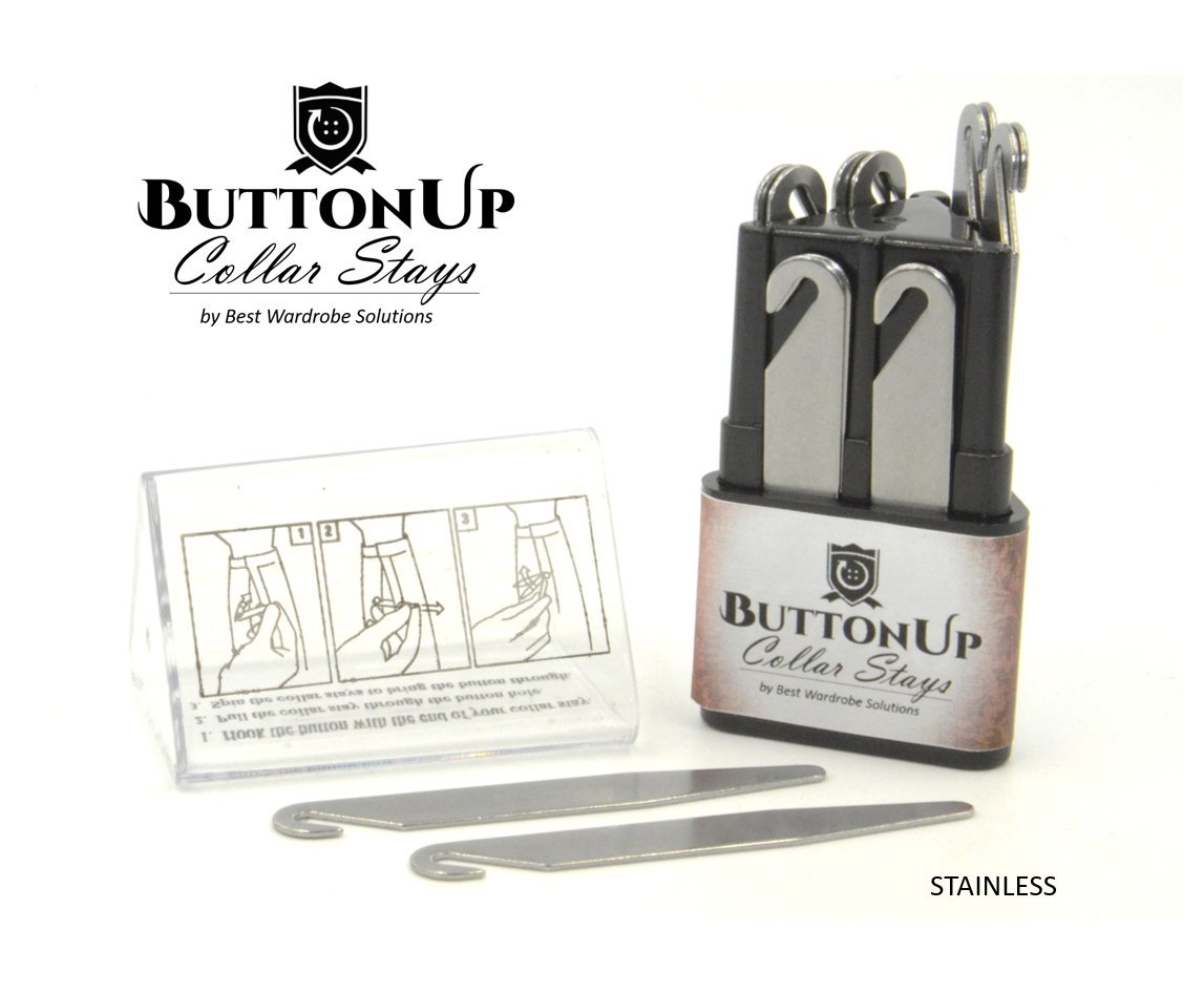ButtonUP Collar Stays