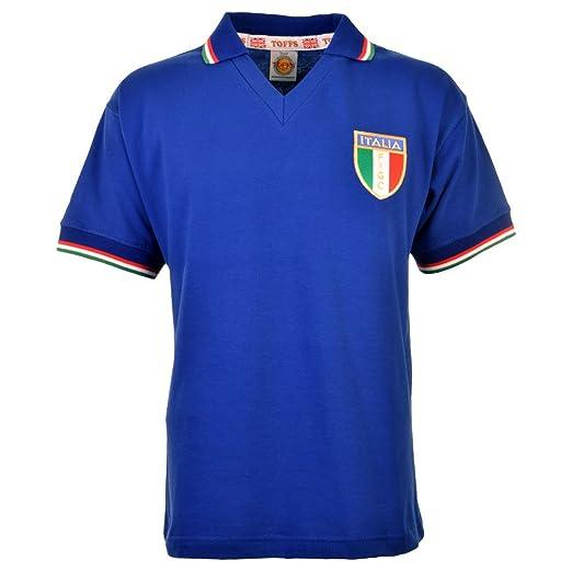 f0b32efce Toffs Italy 1982 World Cup Winners Shirt  Amazon.co.uk  Sports   Outdoors