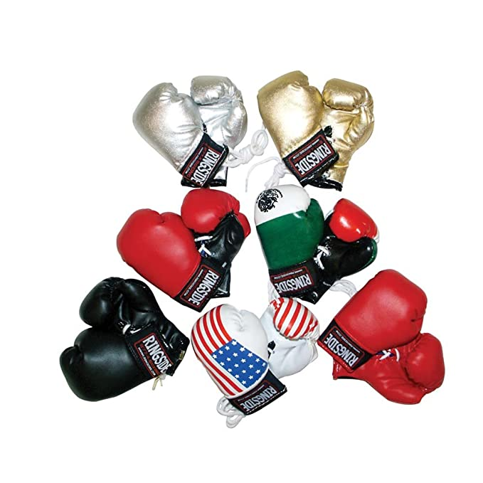Amazon.com: Ringside miniatura Guantes de boxeo: Sports ...