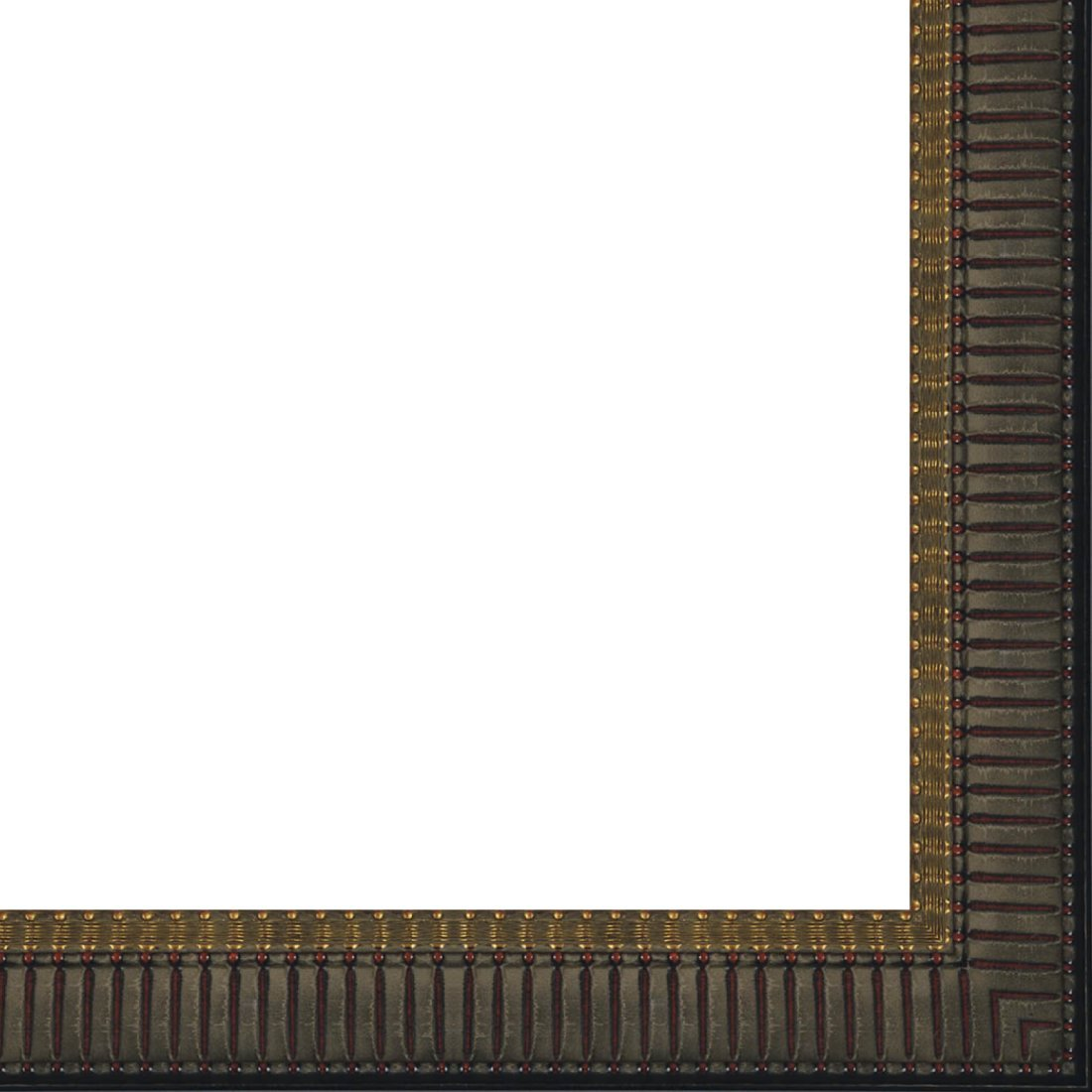 Picture Frame Moulding (Wood) 18ft bundle - Traditional Mahogany Finish - 2.5'' width - 1/2'' rabbet depth