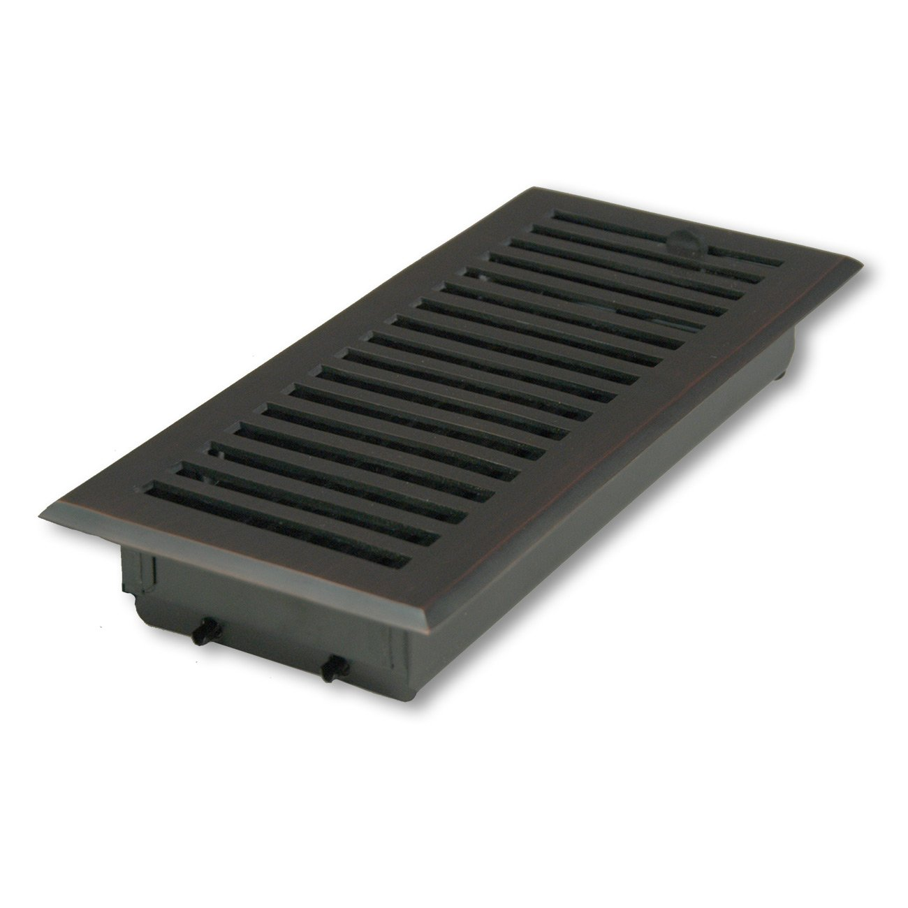 4'' X 10'' Oil-brushed Bronze Contemporary Floor Vent/Register by HRV