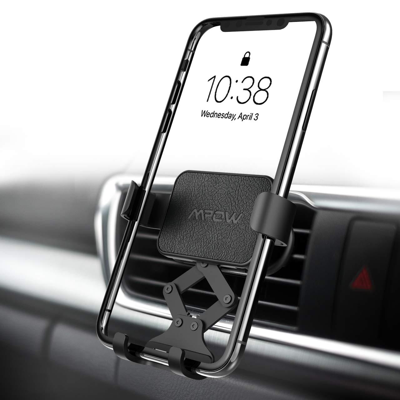 Mpow Supporto Auto Smartphone di gravità per Bocchetta dell'Aria