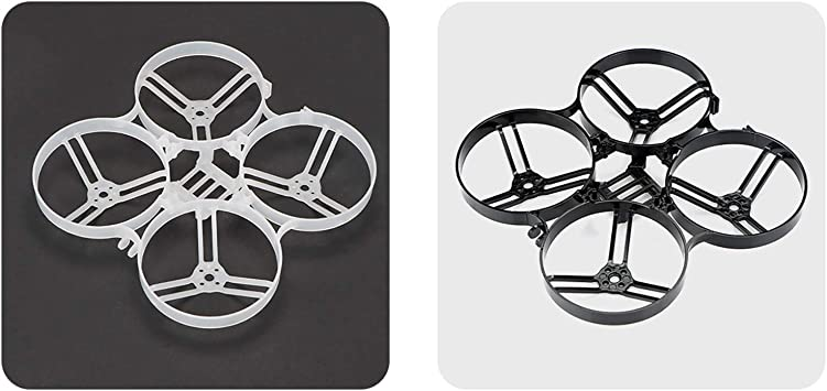 Opinión sobre BETAFPV 2pcs Beta85X Cine Whoop Frame Kit Black and White Compatible for 1105 Brushless Motor Beta85X Cine Whoop Drone