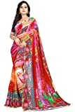 Nemi Agency Women's Multicolor Printed Casual Wear Georgette Saree With Blouse Piece(NAA177)