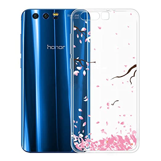 3 opinioni per Custodia per Huawei Honor 9 , IJIA Trasparente Fiore SimmetricoPetalo piuttosto