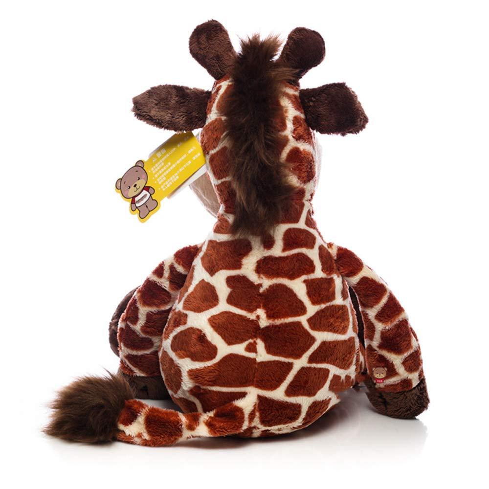 Plüschspielzeugkarikaturgiraffenfigurensimulationstierplüschspielzeug fühlen weich bequemes bequemes bequemes Plüschbaby - Puppe 165f3f