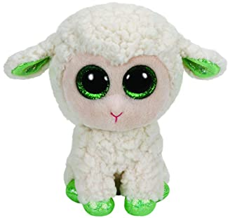 Desconocido T.Y 36128 - Peluche Oveja, 11.6 cm (TY36128) - Peluche Beanie Boos