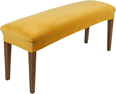 Dining Bench Cover Bench Slipcovers Removable Long Stool Seat Protector NEW