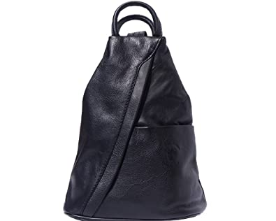 LaGaksta SubMedium Small Italian Leather Backpack Purse and ...