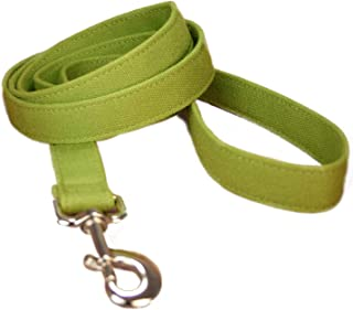 "product image for Hemp Canvas Basic Leashes (1"" Standard, Green)"