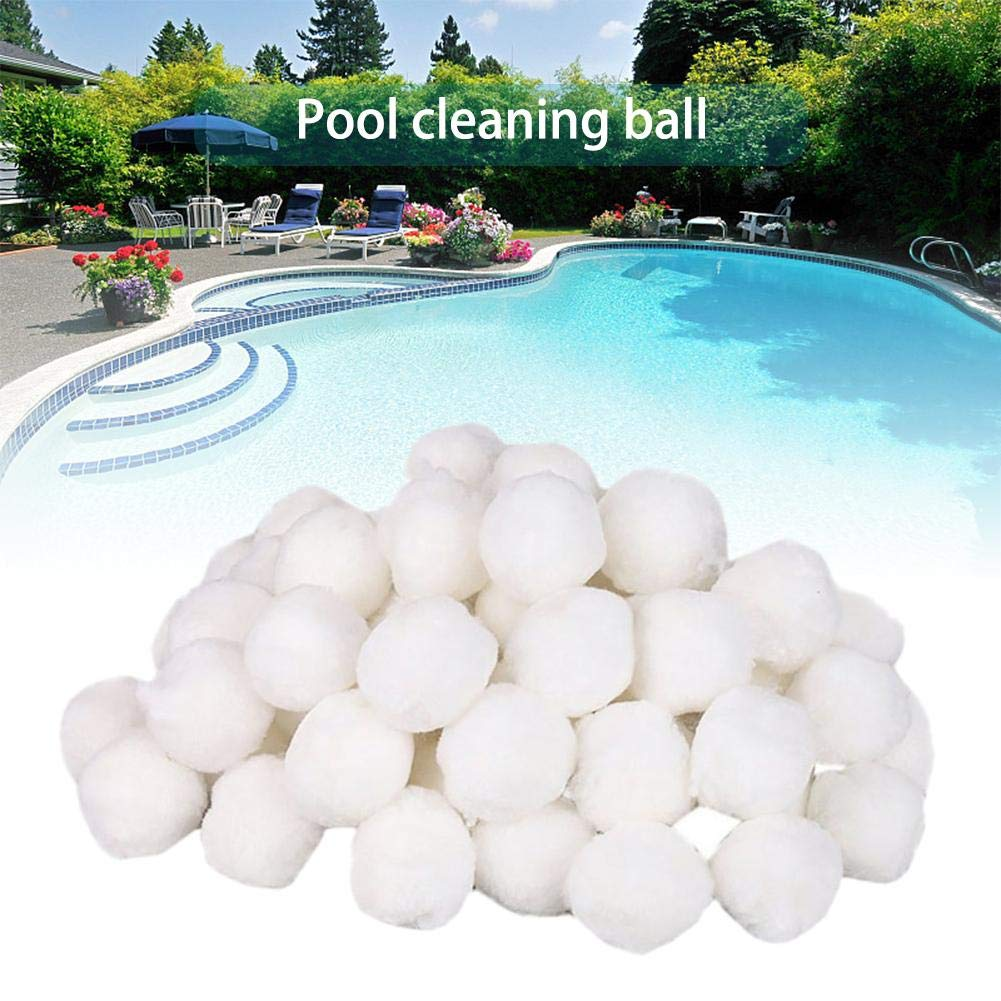 Assiduousic Filter Media Clear White Luster Eco-Friendly Filter Media for Swimming Pool Sand Filters Alternative to Sand and Filter Glass Perfect Bio Balls for Aquarium and Pond Filter Media by Assiduousic (Image #3)
