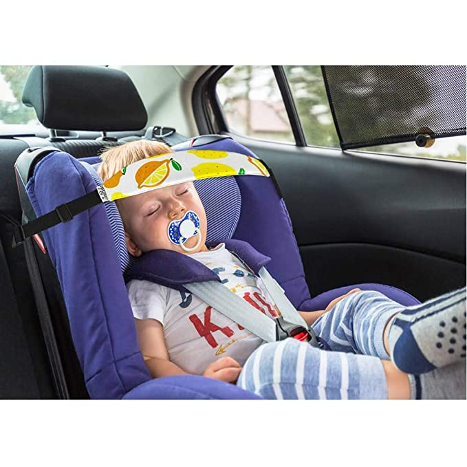 Baby Car Head Support Rovtop 2 Pcs Toddler Seat Strap Nap Aid Holder Belt