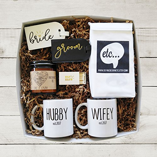 Gifts For Newly Wed Couple: Wedding Gift Box Newlywed Gift Bridal Shower Gift For