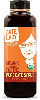product image for Date Lady Organic Date Syrup 24 Ounce Squeeze Bottle | Vegan, Paleo, Gluten-free & Kosher