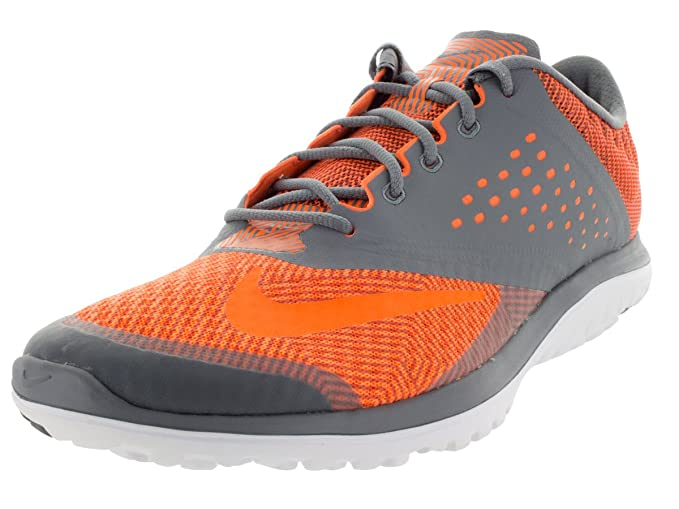 brand new 4f3ed b9f7d Nike Men's FS Lite Run 2 Premium Cool Grey/Total Orange ...