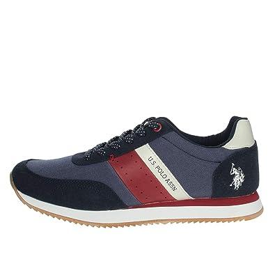 U.s. Polo Assn NOBIL4153S9/TH1 Sneakers Hombre Azul 45: Amazon.es ...