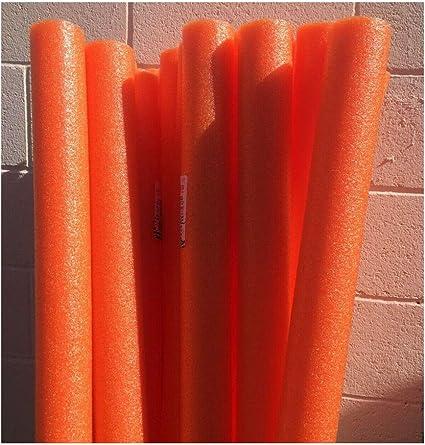 Assorted Colors 6-Pack Super Thick Swim Pool of Noodles Float The Dreidel Company Pool Noodles Foam