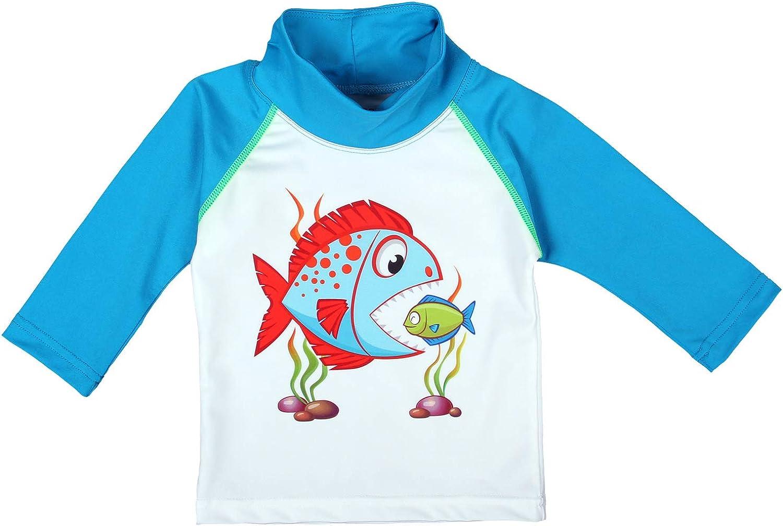 UPF 50+ Nozone Sun Protective Baby Swim Shirt