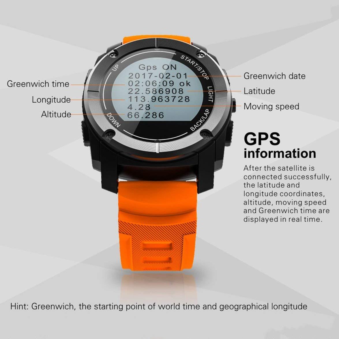 Kongqiabona Smart Watch S928 Reloj Deportivo Profesional ...