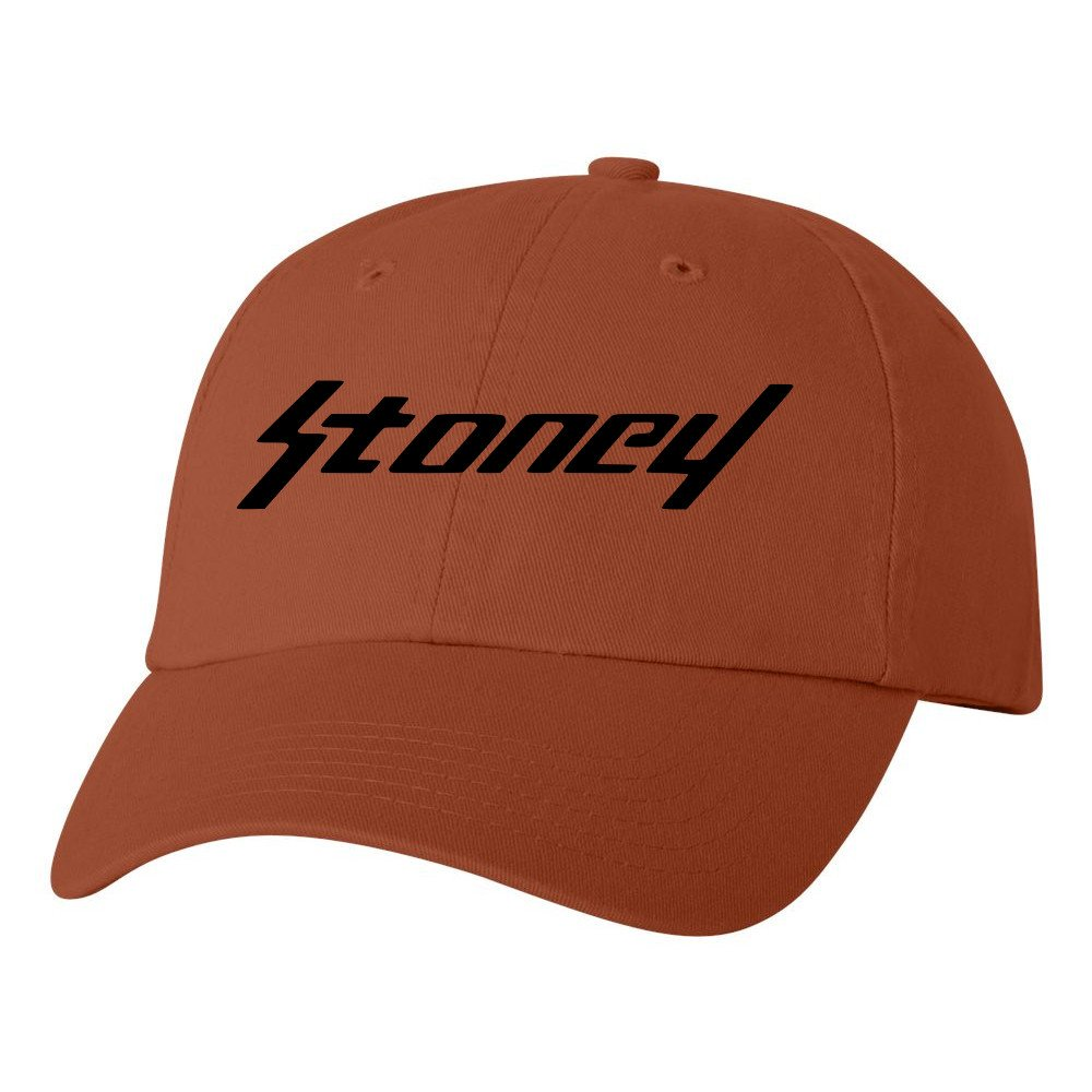 1d26d79d1ec43 Post Malone Stoney Black Logo Dad Hat Rockstar Adjustable Baseball Cap  TexasOrg at Amazon Men s Clothing store