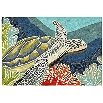 Amazon Com Area Rugs Turtle Creek Rug 24 Quot X 36 Quot Sea