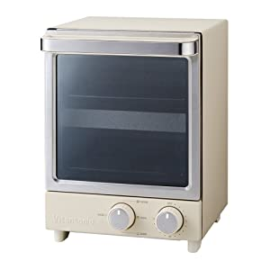 Vitantonio Vertical type TOASTER OVEN VOT-20-I (Ivory)【Japan Domestic genuine products】