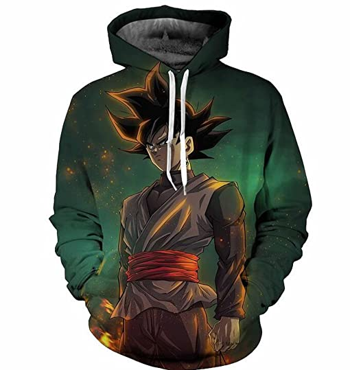 Anime Dragon Ball Pullover Hoodie Sweatshirt Shirt Tops Coat ...