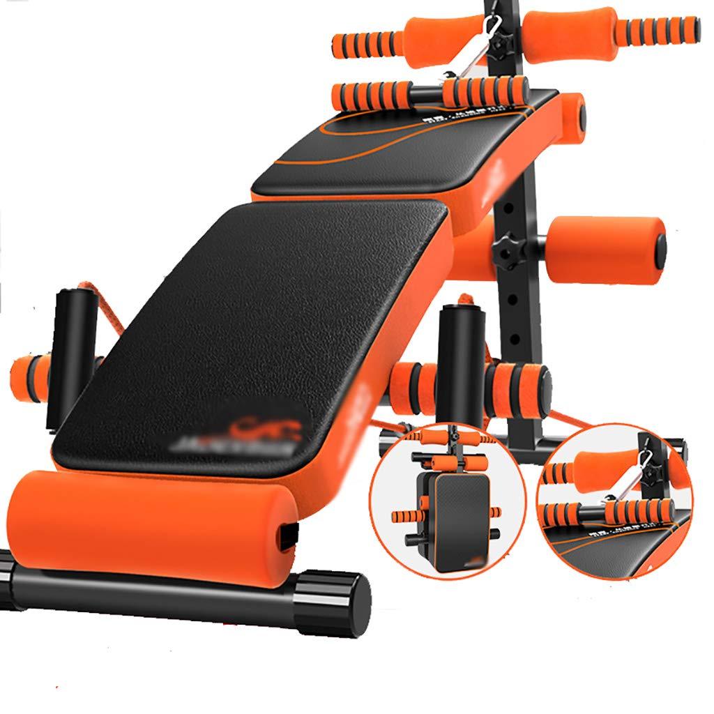 腹筋器具 スポーツ折りたたみABトレーニングプラットフォームジムの肩の胸の圧縮訓練装置   B07GKRFD4Z