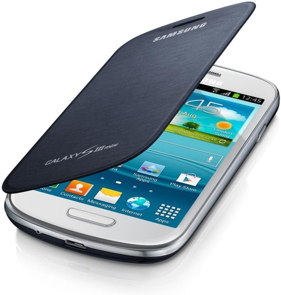 Samsung Sm Efc 1m7fbegstd Flip Cover For Samsung Galaxy S3 Mini Retail Packaging Blue Amazon Ca Cell Phones Accessories