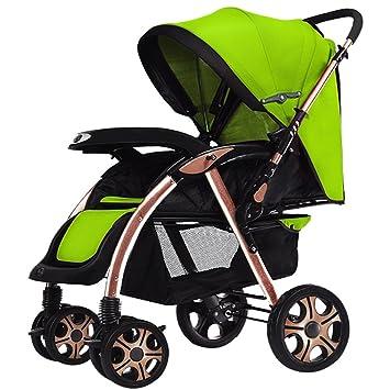 Baby carriage Carrito de bebé de los niños, cochecito de bebé, se puede sentar