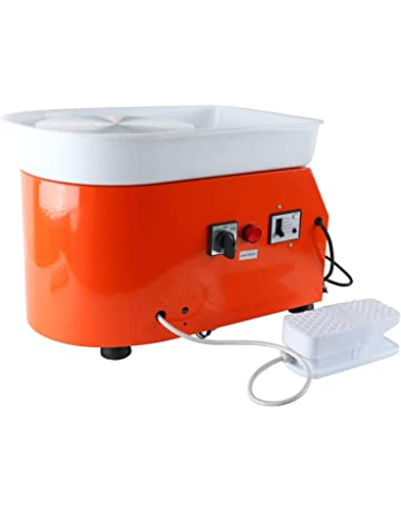 YaeTek 25CM 350W Electric Pottery Wheel Machine Ceramic Work Clay Art Craft 110V US Plug