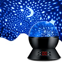 MOKOQI Star Projector Night Lights for Kids With Timer, Gifts for 1 - 14 Year Old Girl and Boy, Room Lights for Kids…