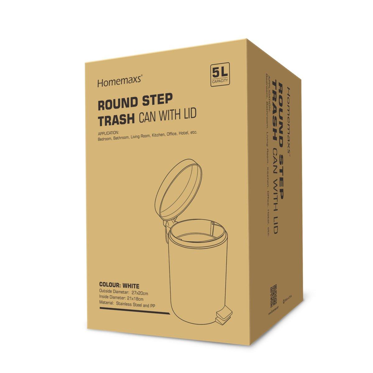 Modernes Toilettenb/ürsten f/ür die Toilette - Wei/ß WC-Garnitur Klob/ürste mit L/ängere Griff 2er Pack Homemaxs WC-B/ürste und Beh/älter